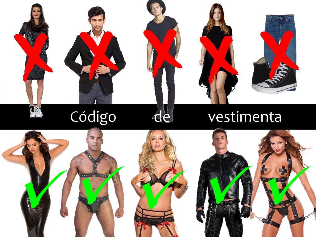 Dresscode bdsm The Black